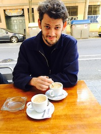 Max Pinckers with Coffee