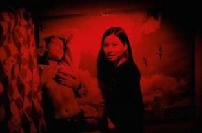 CHINA. Beijing. 2001. Young prostitute, originally from Henan, in a massage parlour, .