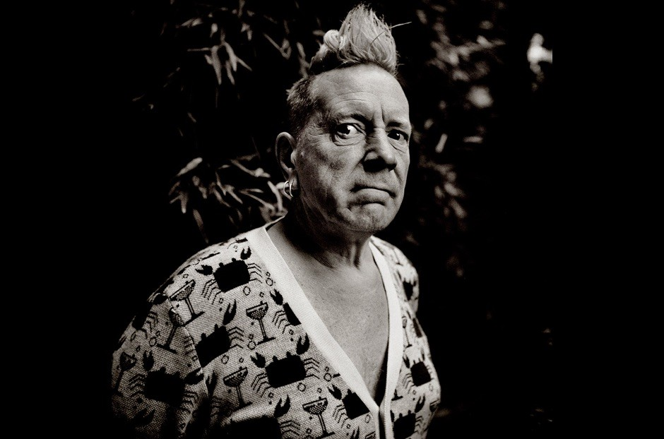 John Lydon alias Johnny Rotten, 2014 © Richard Dumas