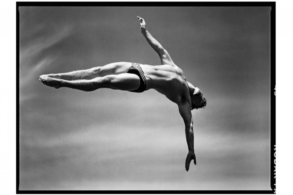 Plongeon de haut vol hommes, Fort Lauderdale, Floride, USA, mai 1996 Platform diving, Men, Fort Lauderdale, Florida, May 1996 © David Burnett (Contact Press Images)