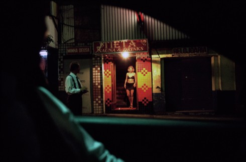 © Patrick Zachmann/Magnum Photos BRAZIL. Town of Sao Paulo. 1997. A prostitute in the red-light district of Sao Paulo.  © Patrick Zachmann / Magnum Photos