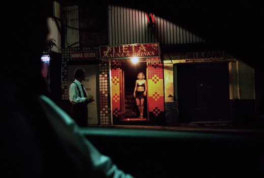 BRAZIL. Town of Sao Paulo. 1997. A prostitute in the red-light district of Sao Paulo. © Patrick Zachmann / Magnum Photos